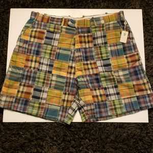Peter Millar Checkered Golf Shorts 42 (NWT)